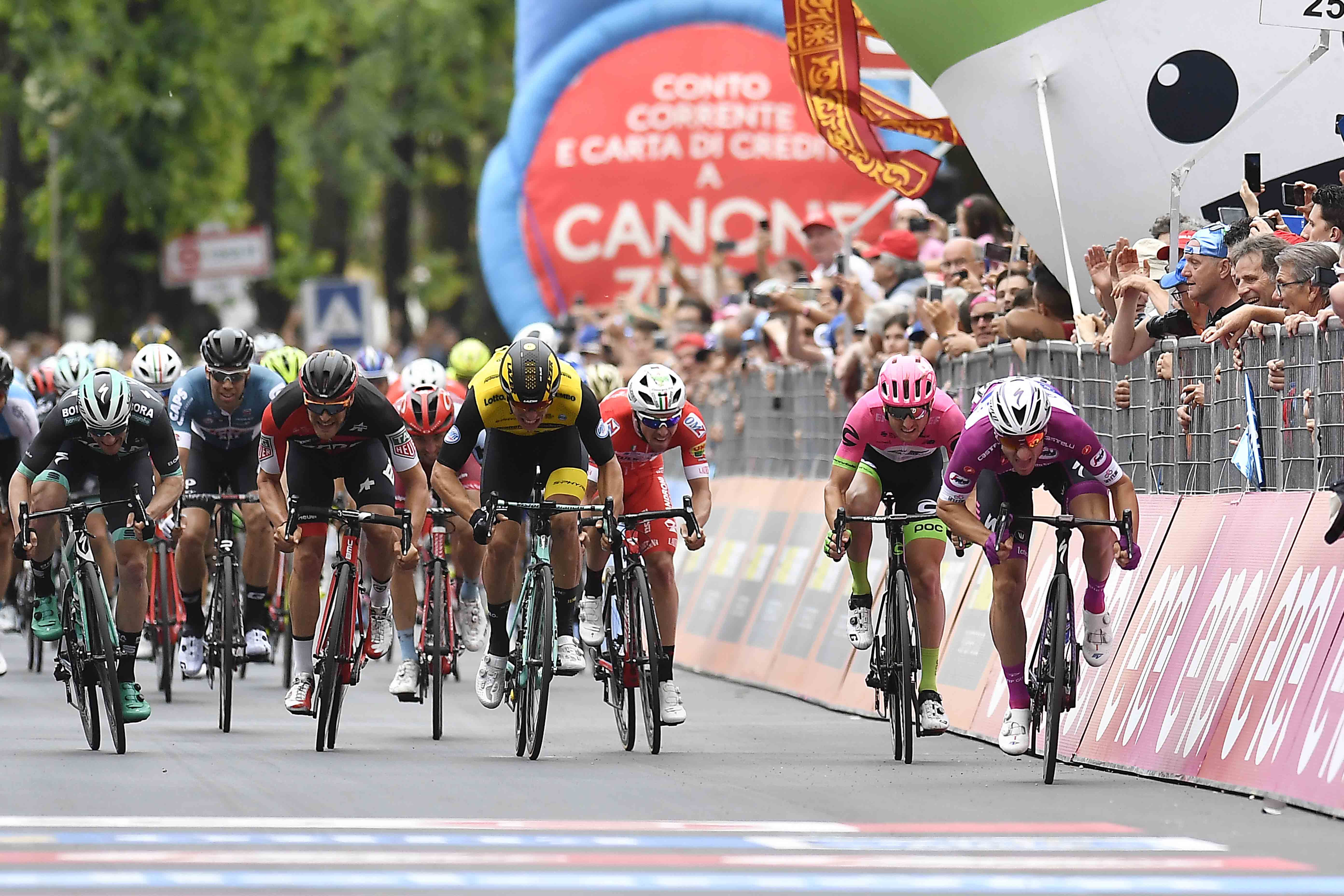 Giro de Italia 2019: listado provisional de participantes