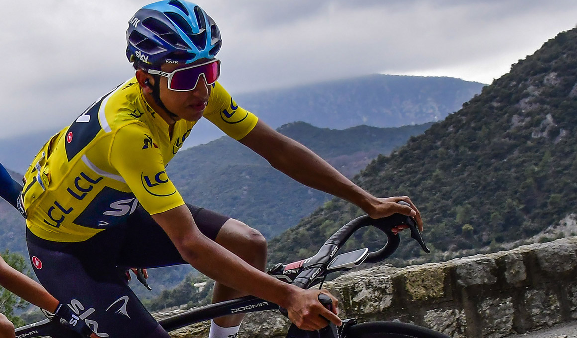 Egan Bernal, baja para el Giro de Italia por fractura de clavícula