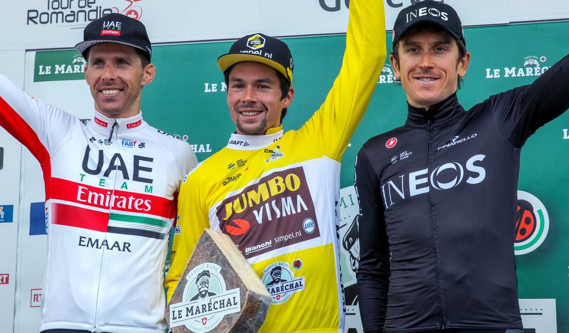 Tour de Romandía: Roglic arrasa en la crono final y ya piensa en el Giro