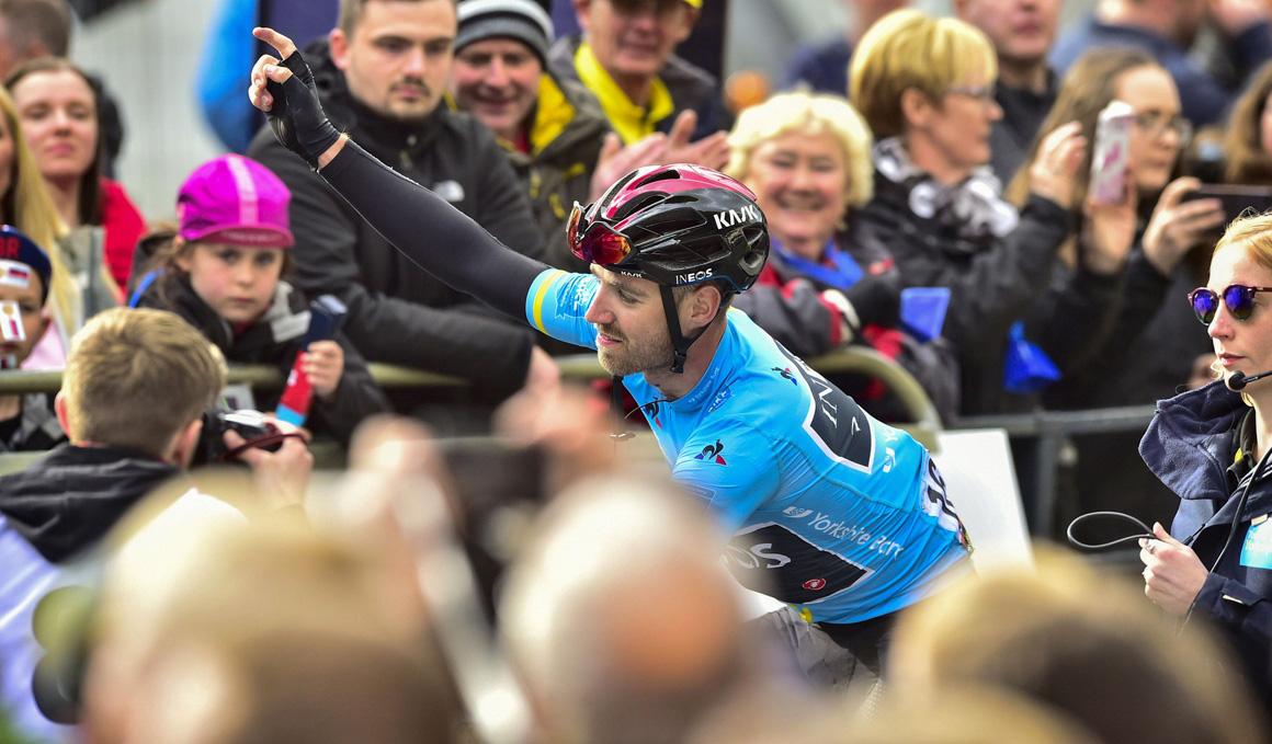Chris Lawless (Ineos) vencedor en el Tour de Yorkshire
