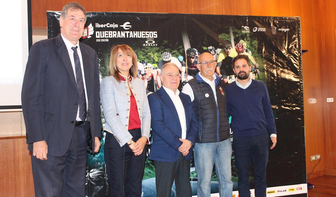 La Quebrantahuesos 2019 se presenta en la Diputación de Huesca