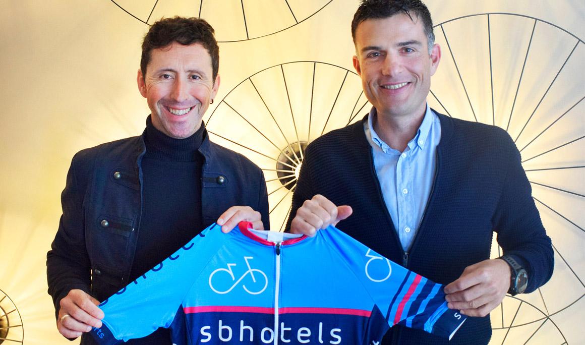 SB Hotels presenta su proyecto cicloturista de la mano de Joseba Beloki