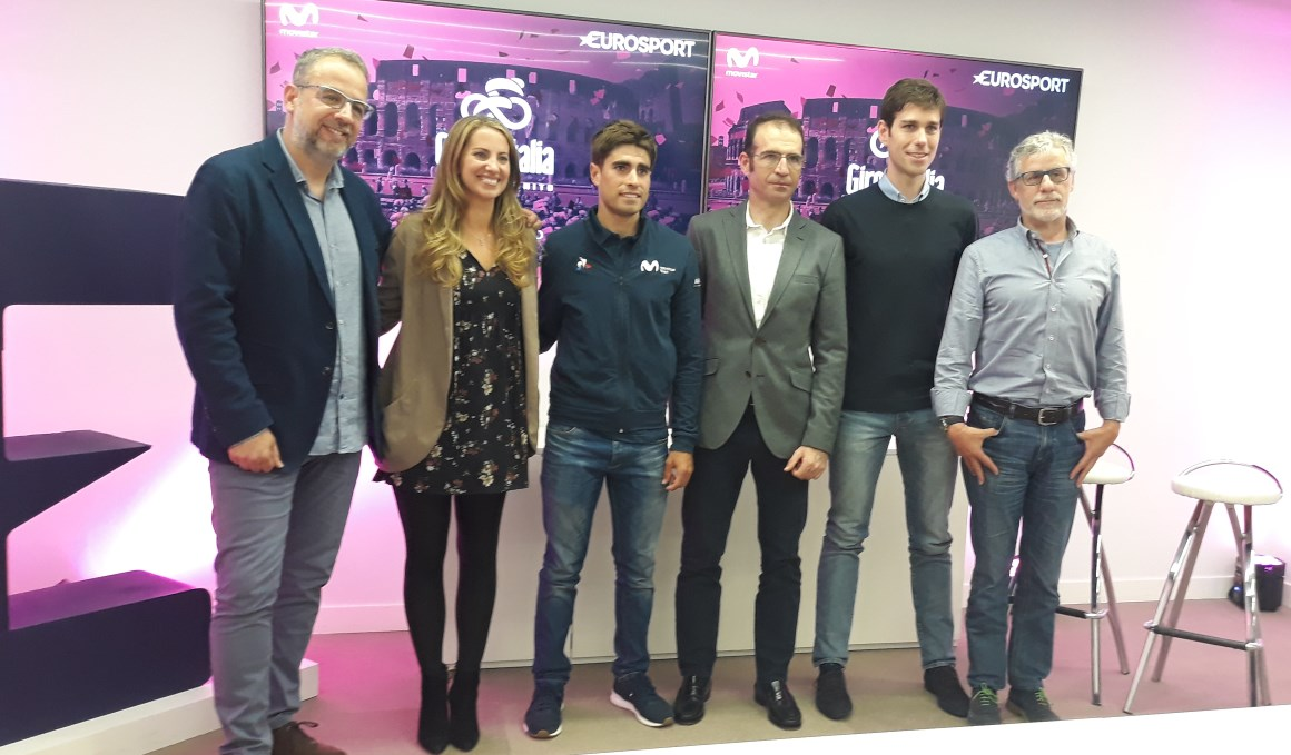 Eurosport presenta su cobertura del Giro de Italia