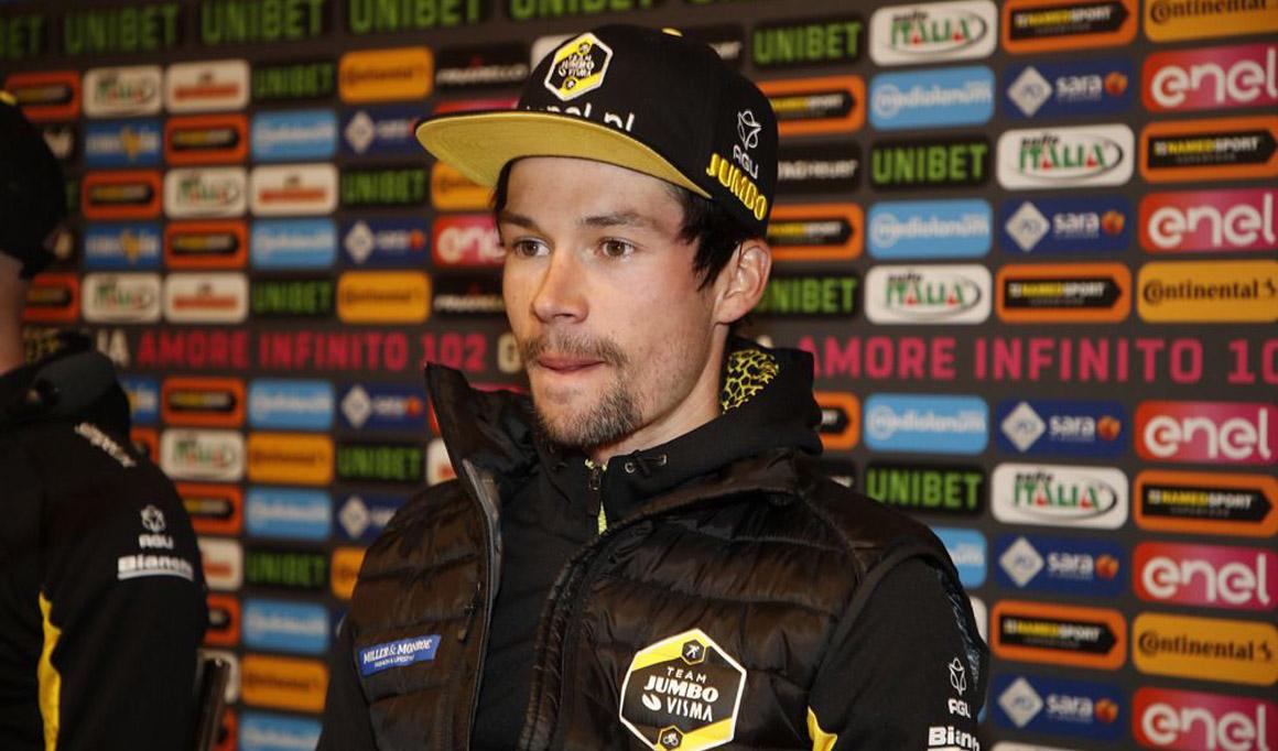 """Primoz Roglic: """"En cada carrera que comienzo, salgo a ganar"""""""