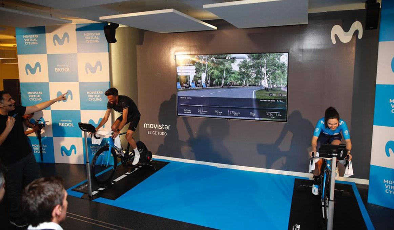 Llega la primera fase presencial de Movistar Virtual Cycling