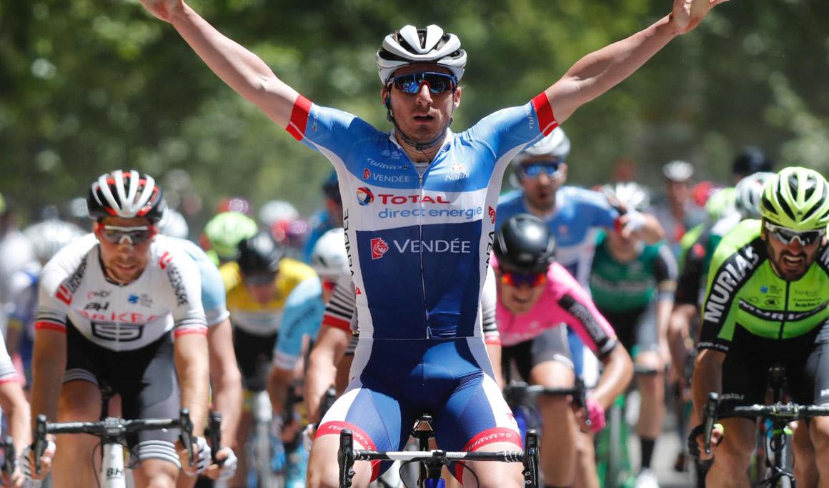 Niccolò Bonifazio, primer líder de la Vuelta a Madrid