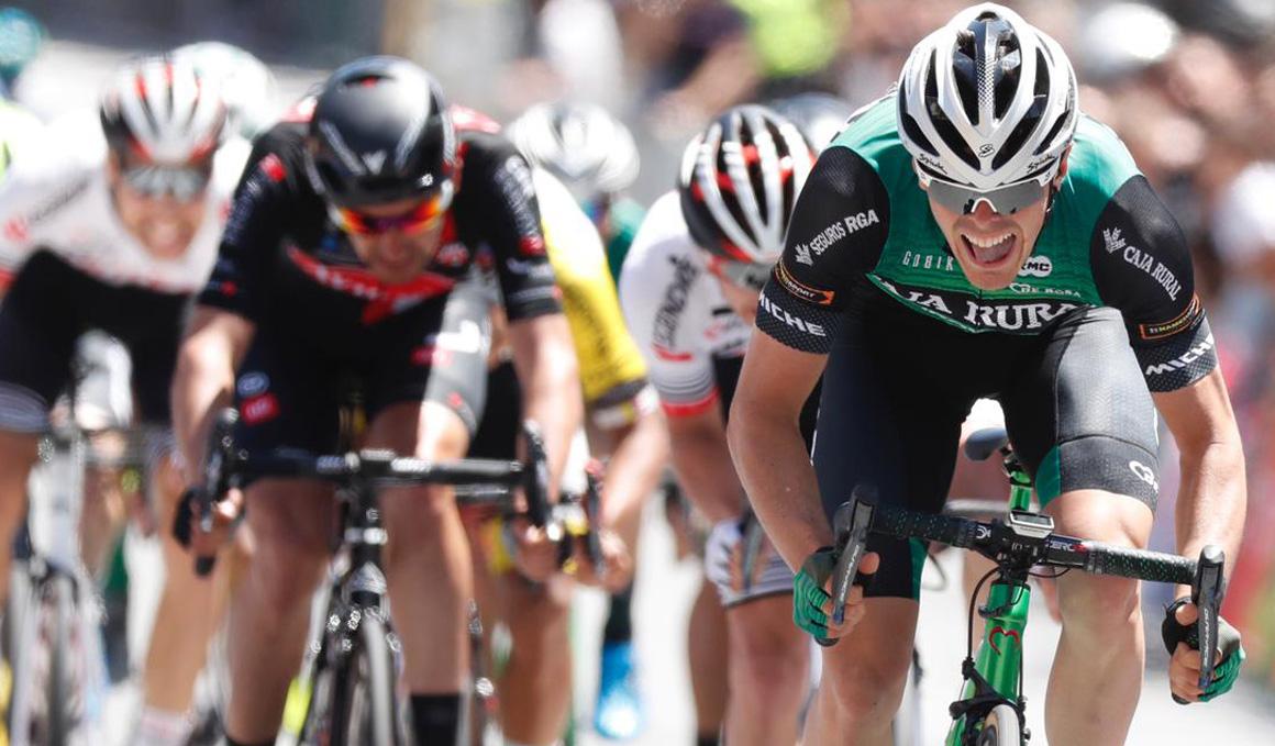 Aranburu se lleva la 2ª etapa de la Vuelta a Madrid y lidera la general