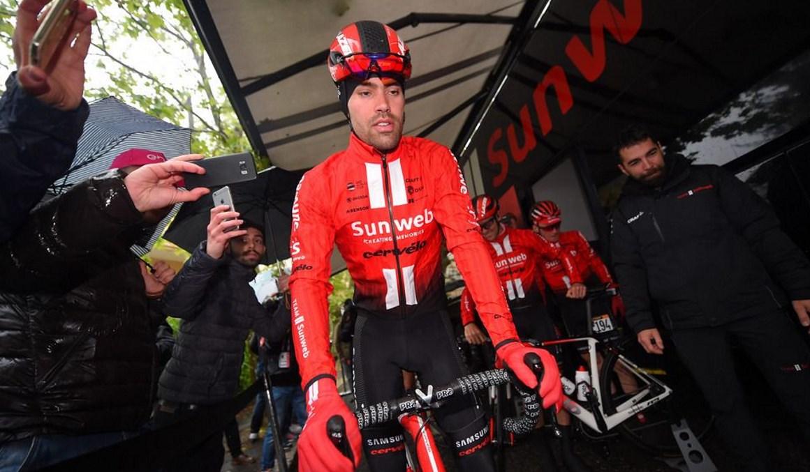 """Dumoulin: """"Para mí es terrible dejar el Giro después de meses de preparación"""""""