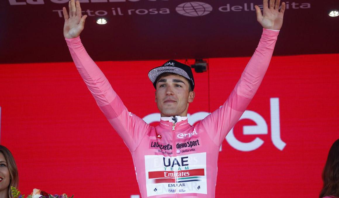 """Conti: """"Una cosa es soñar con vestir la maglia rosa y otra conseguirlo"""""""