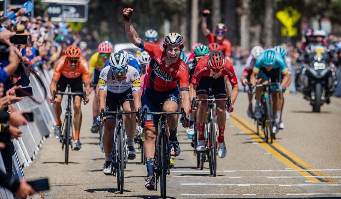 California: García Cortina estrena su palmarés con una victoria al sprint