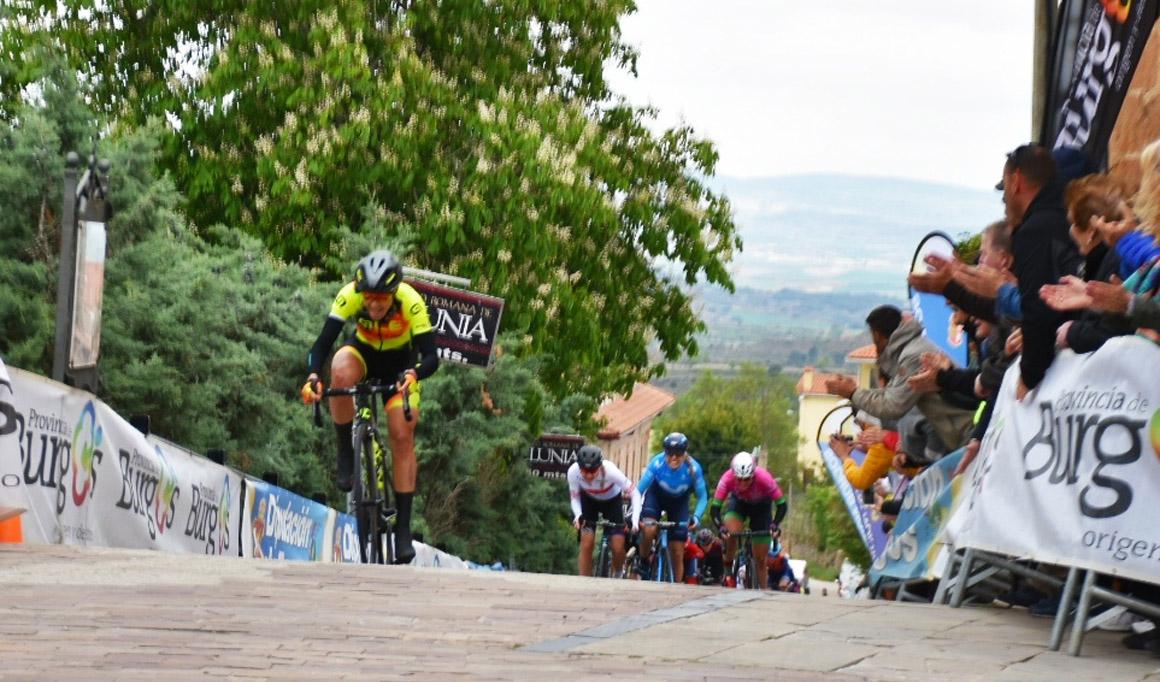 Soraya Paladín gana en Poza de la Sal la 2ª etapa de la Vuelta a Burgos