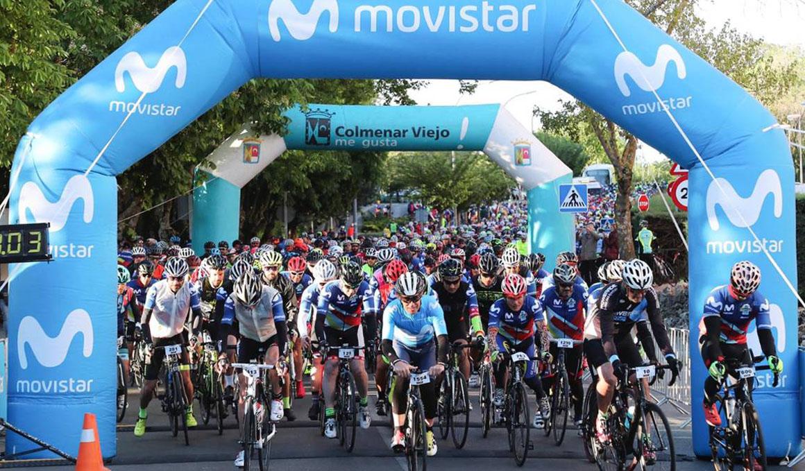Más de 1.600 cicloturistas desafían a los Puertos de Guadarrama