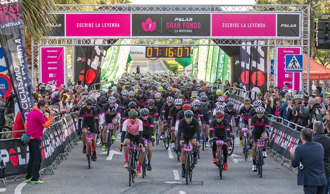 7.000 ciclistas participaron en la VI Polar Gran Fondo La Mussara