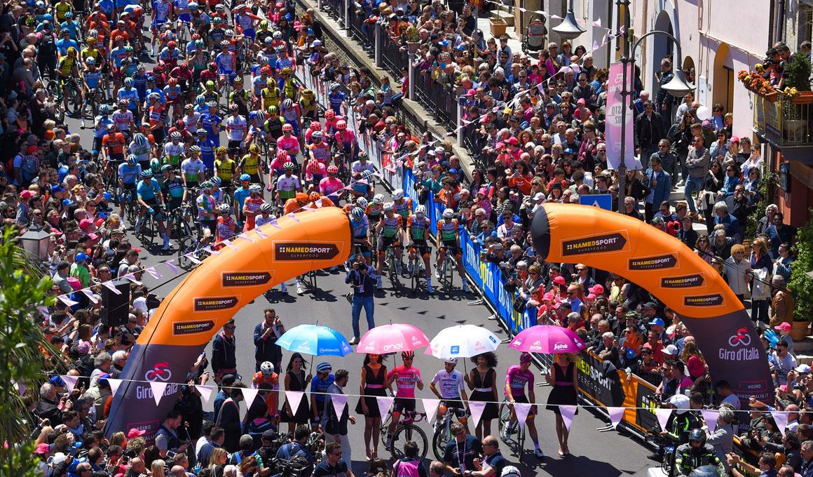 La montaña llega al Giro en una semana clave