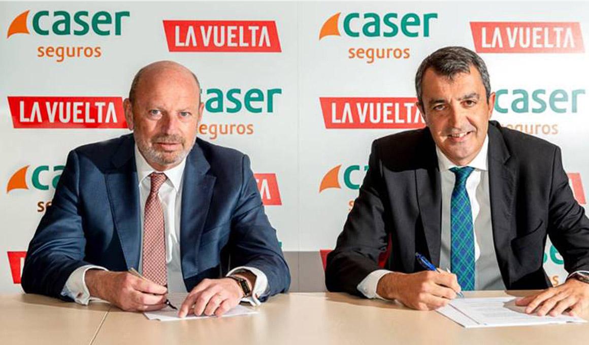 Caser, nuevo patrocinador de La Vuelta