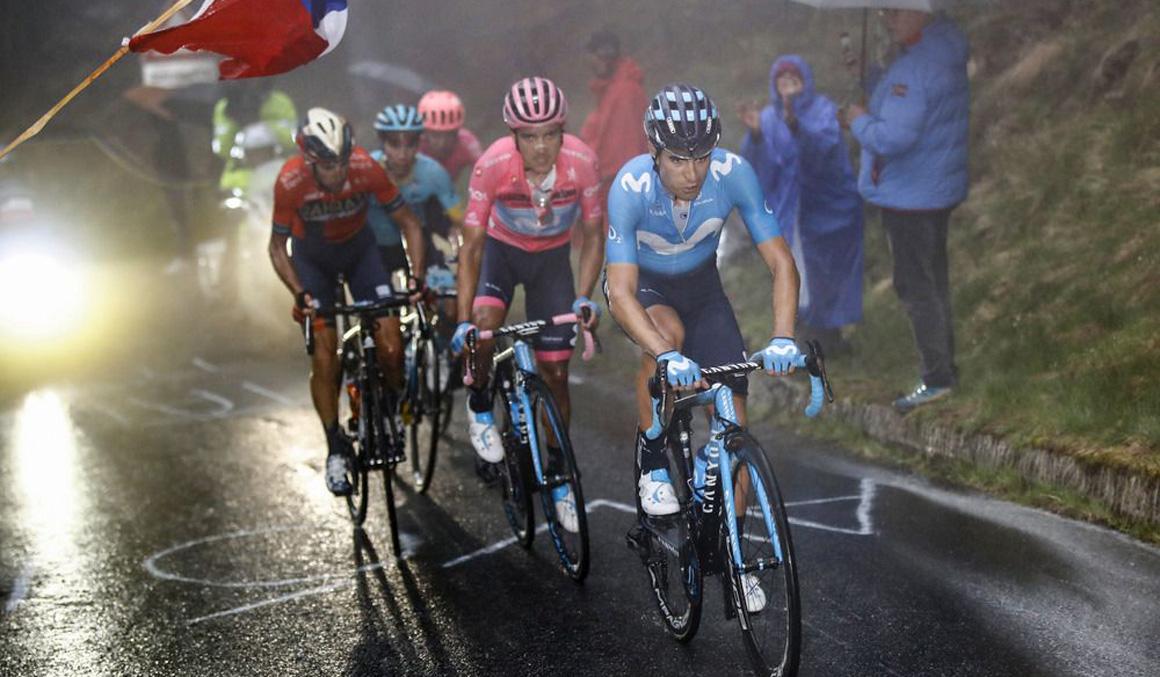 El Mortirolo consolida el liderato de Carapaz y acerca al podio a Mikel Landa
