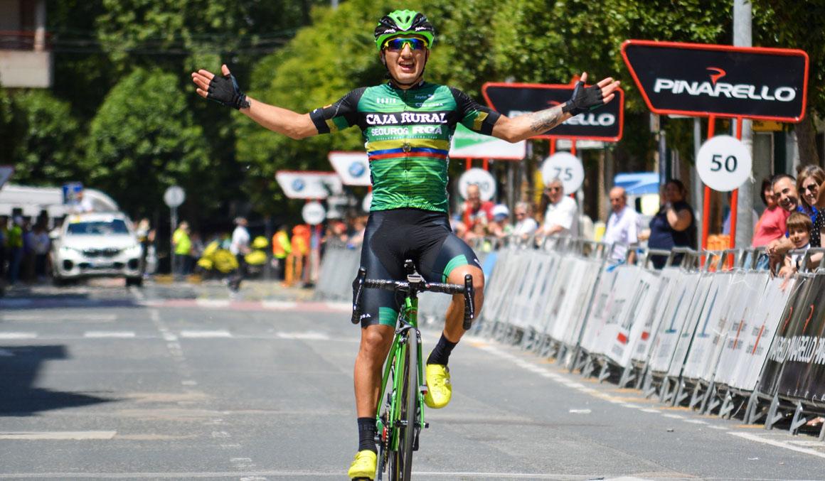 Jefferson Cepeda gana en Navarra en el gran día del ciclismo ecuatoriano