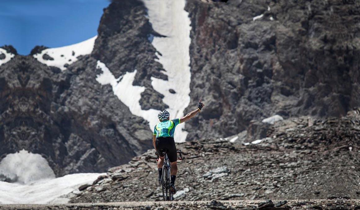Nuevo recorrido de la Sierra Nevada Límite