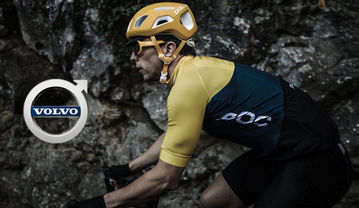 Volvo Cars y POC investigando en seguridad vial en pro de la bicicleta