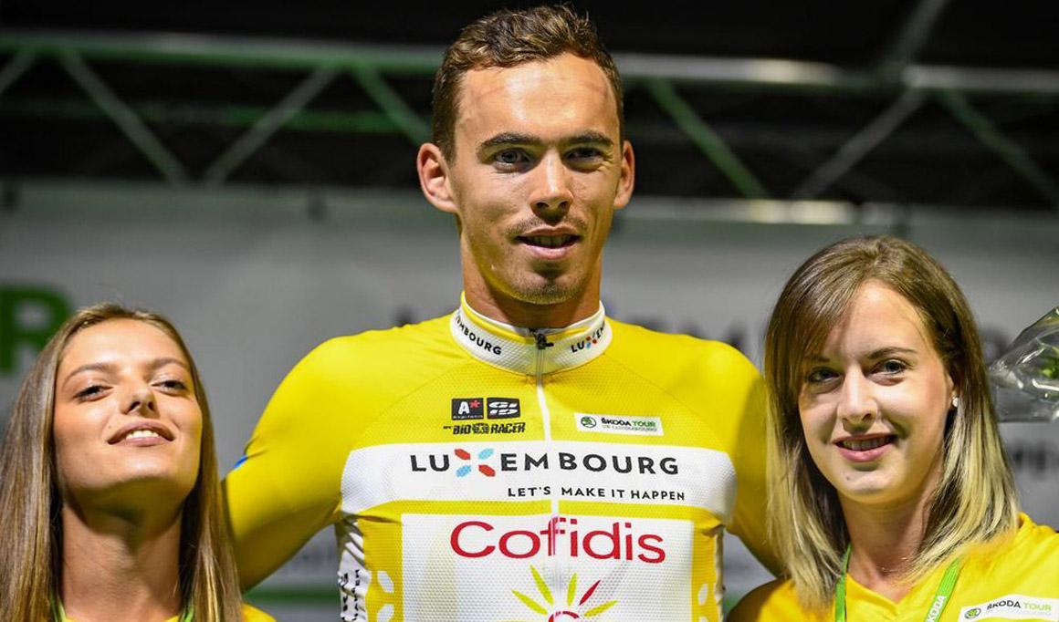 Christophe Laporte, primer líder del Tour de Luxemburgo
