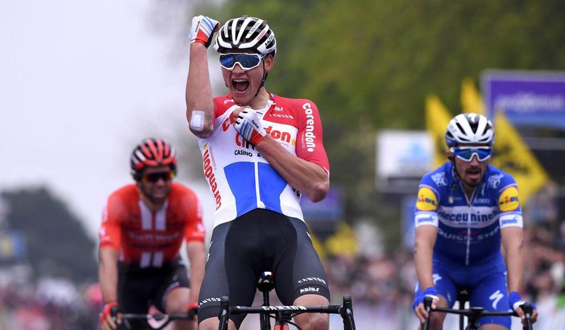 Mathieu van der Poel disputará el Mundial de carretera de Yorkshire