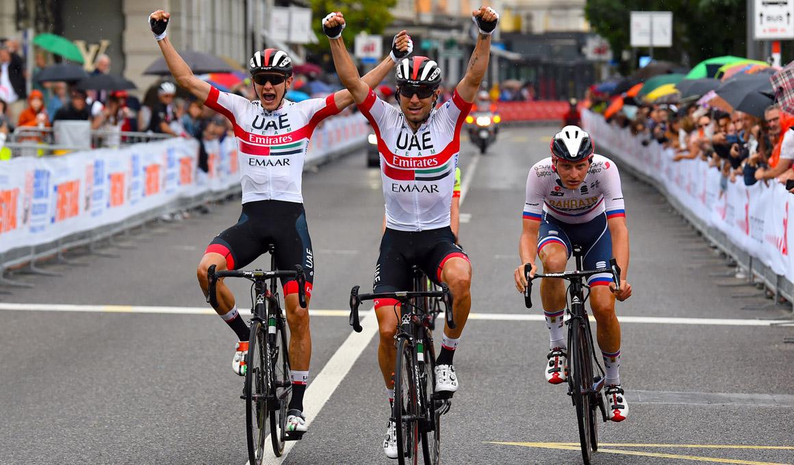 Doblete para el UAE Emirates en el GP Lugano