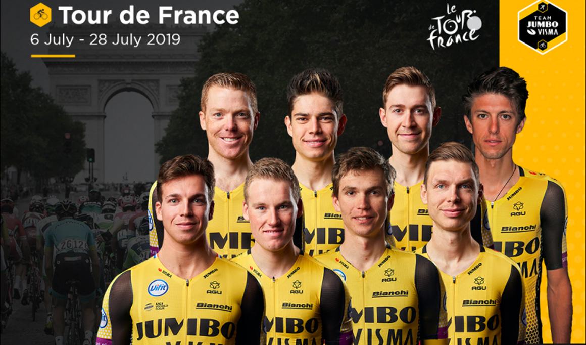 Jumbo-Visma anuncia su equipo para el Tour... sin Primoz Roglic