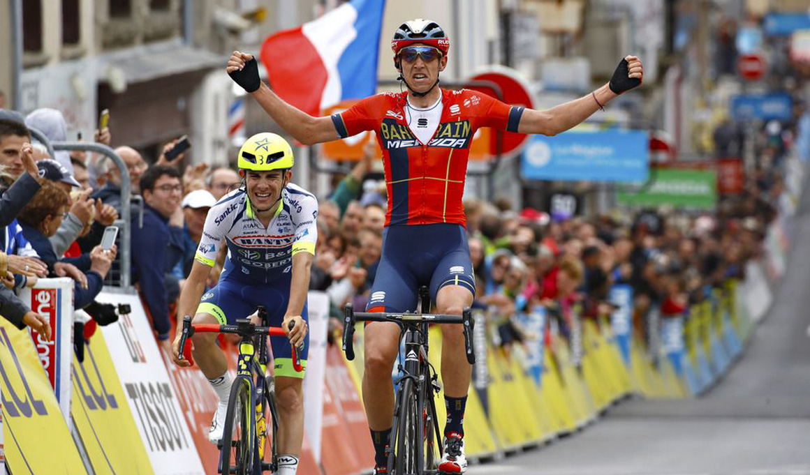 Dylan Teuns, etapa y liderato en el Dauphiné