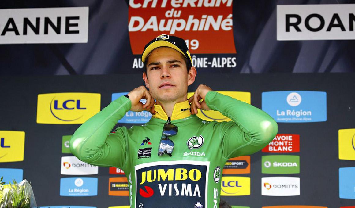 Dauphiné: Wout Van Aert arrasa en la crono; Adam Yates, nuevo líder