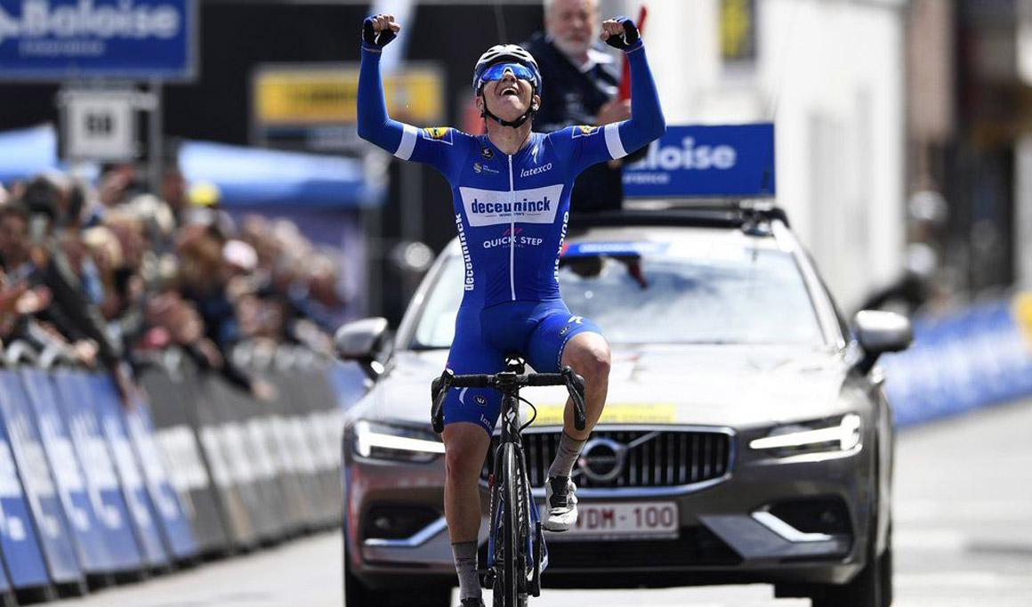 Remco Evenepoel estrena su palmarés profesional en el Tour de Bélgica