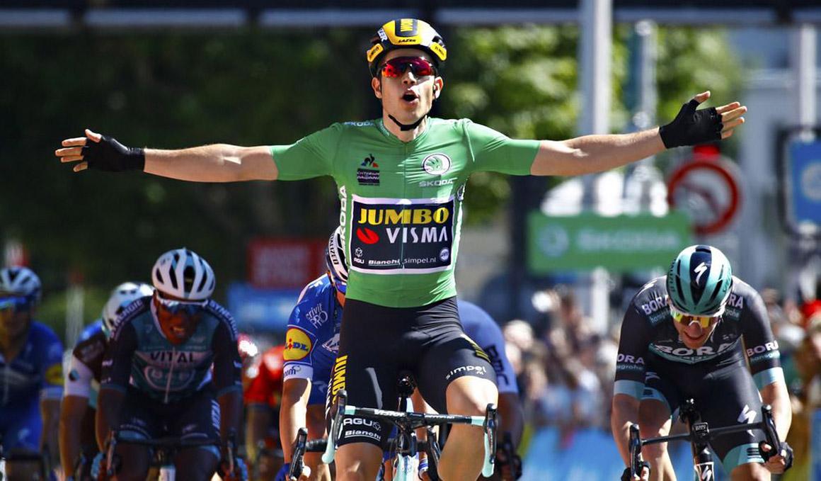 Dauphiné: Wout Van Aert, también al sprint