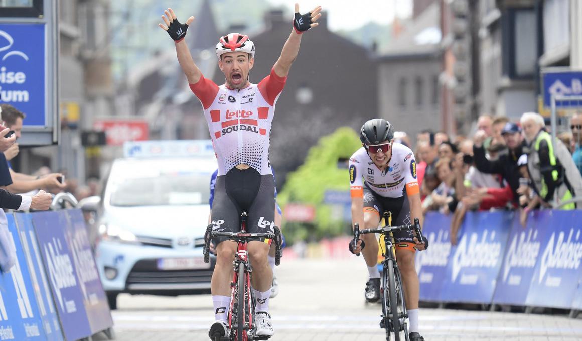 Tour de Bélgica: Campenaerts vence tras una nueva exhibición de Evenepoel