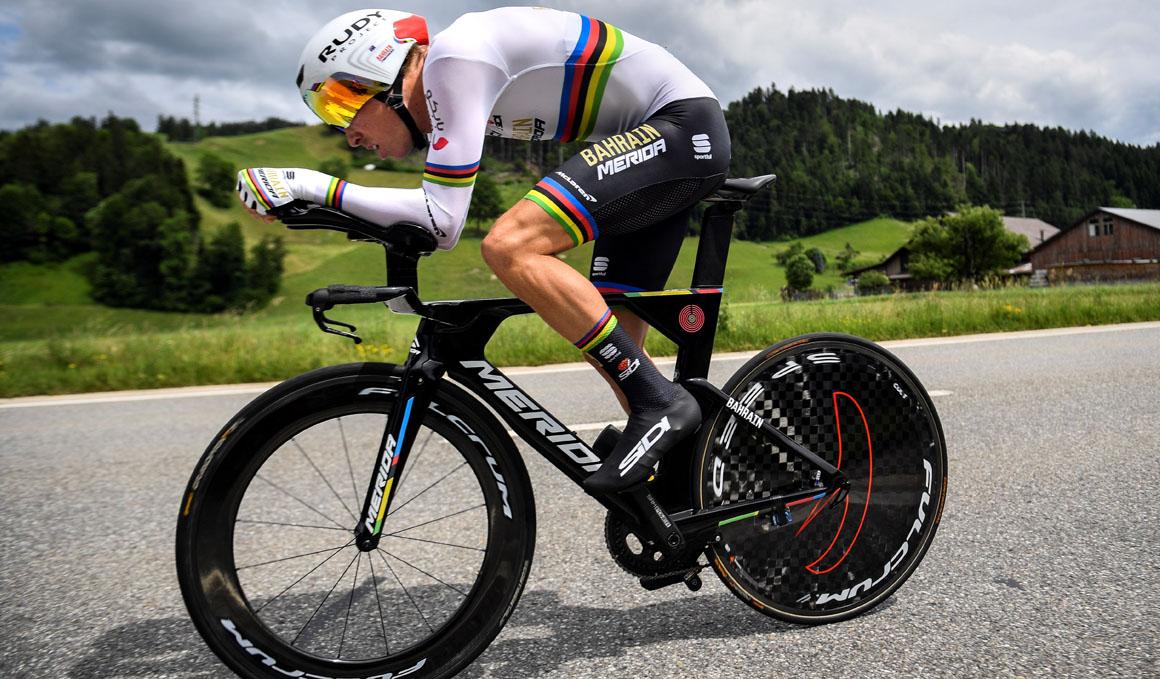 Rohan Dennis, primer líder de la Vuelta a Suiza