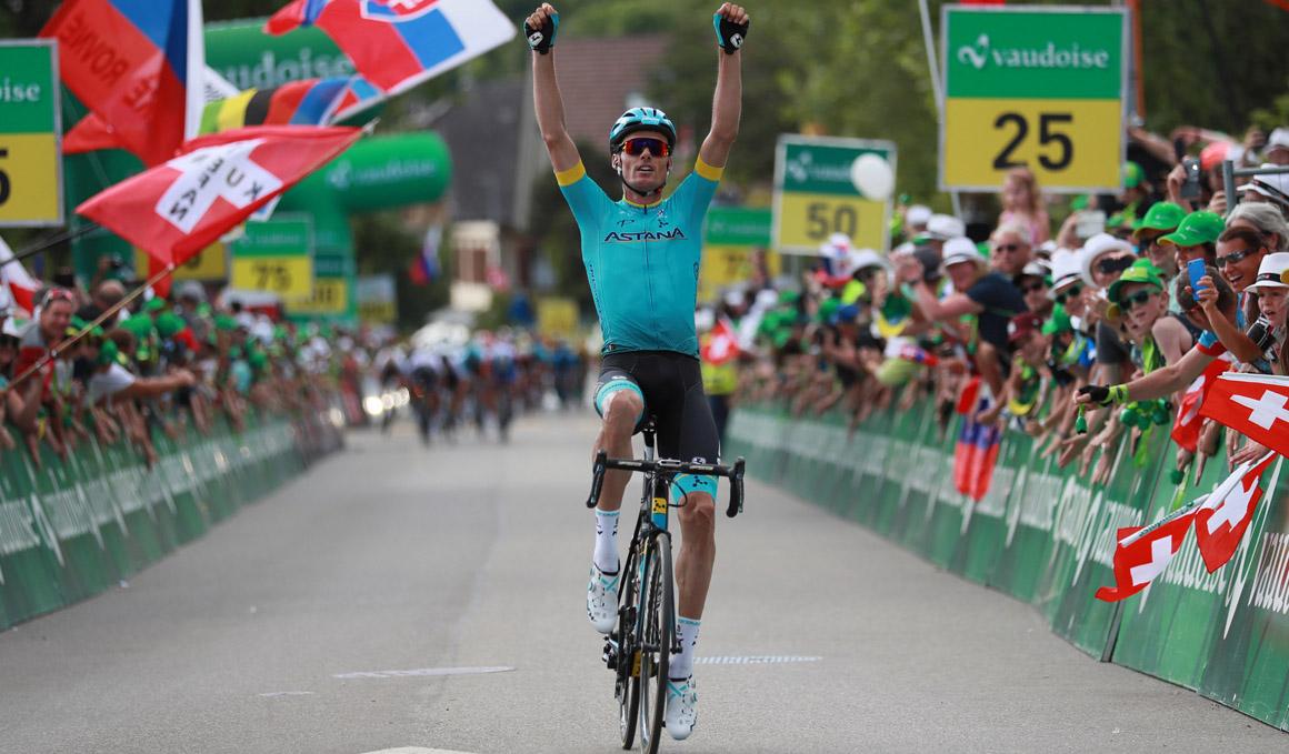 Luis León Sánchez se impone en la segunda etapa de la Vuelta a Suiza