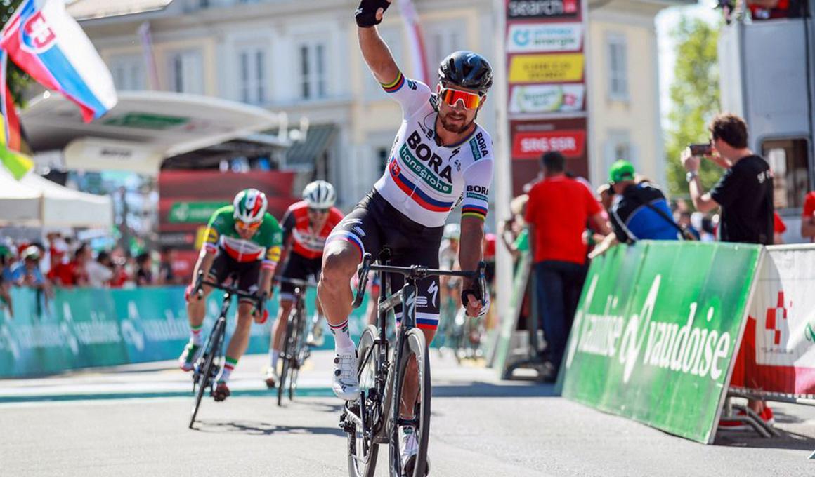 Peter Sagan, etapa y liderato en la Vuelta a Suiza