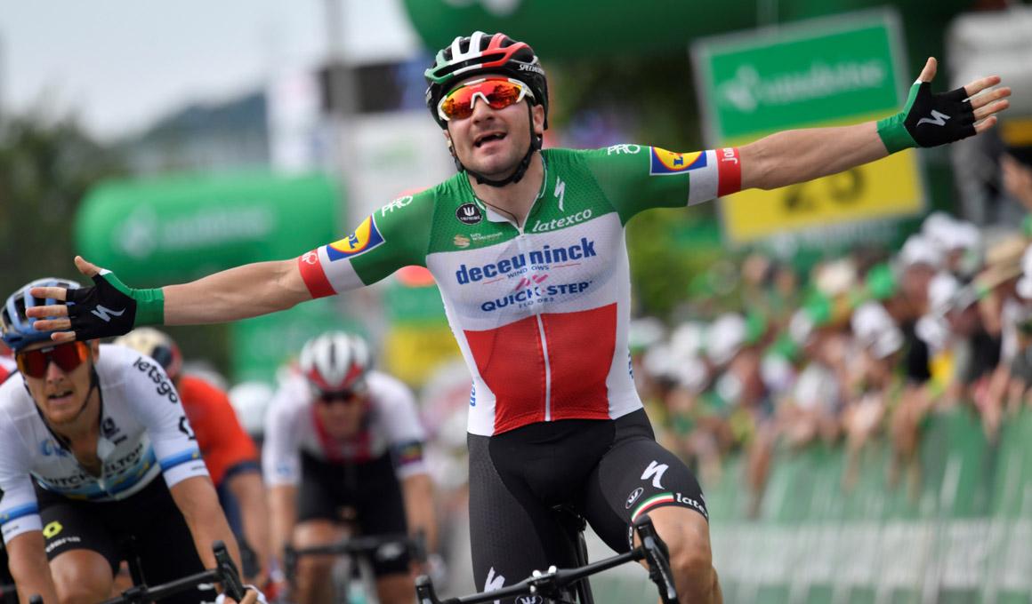 Vuelta a Suiza: Viviani gana el segundo duelo de sprinters
