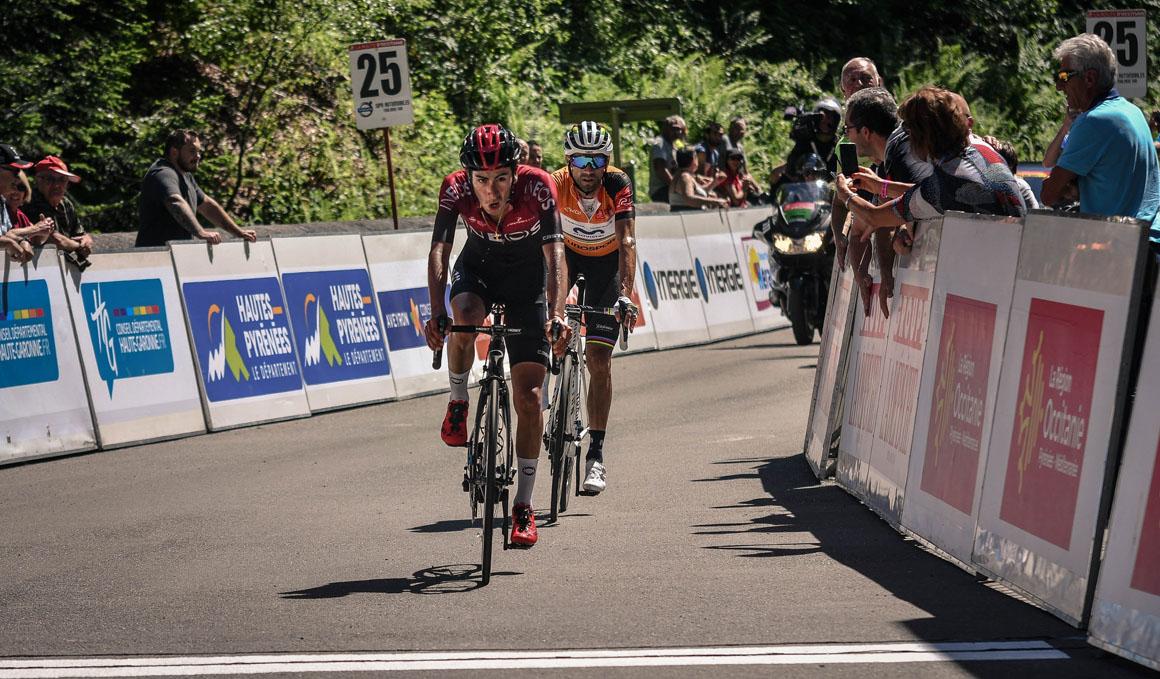 Occitania: Sosa se impone a Valverde en la etapa reina y el murciano asegura el liderato