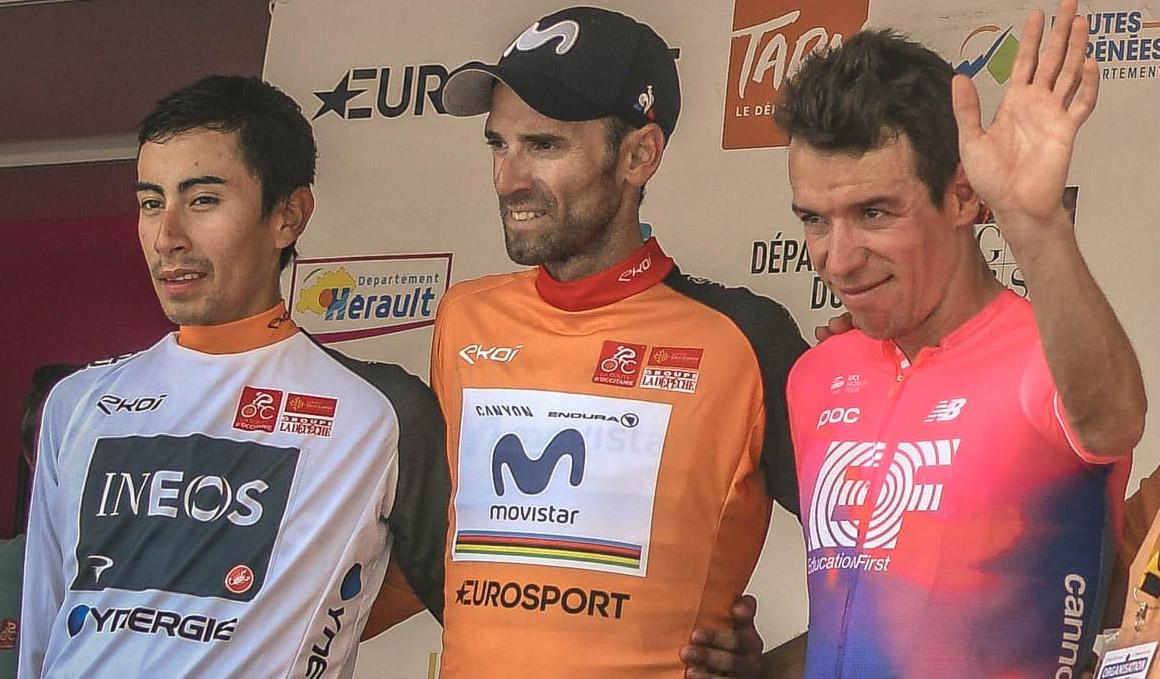 Alejandro Valverde gana la Ruta de Occitania por segundo año consecutivo