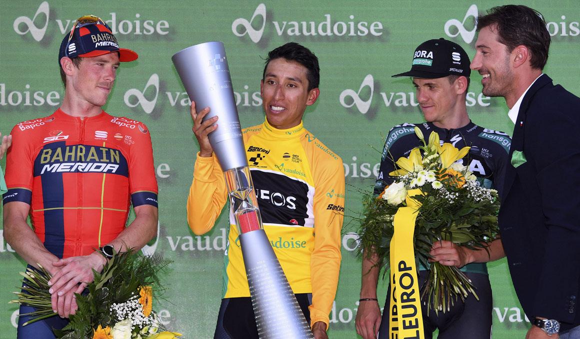 Egan Bernal se impone con autoridad en la Vuelta a Suiza