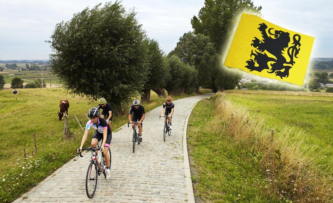 Flandes, cicloturismo de verano