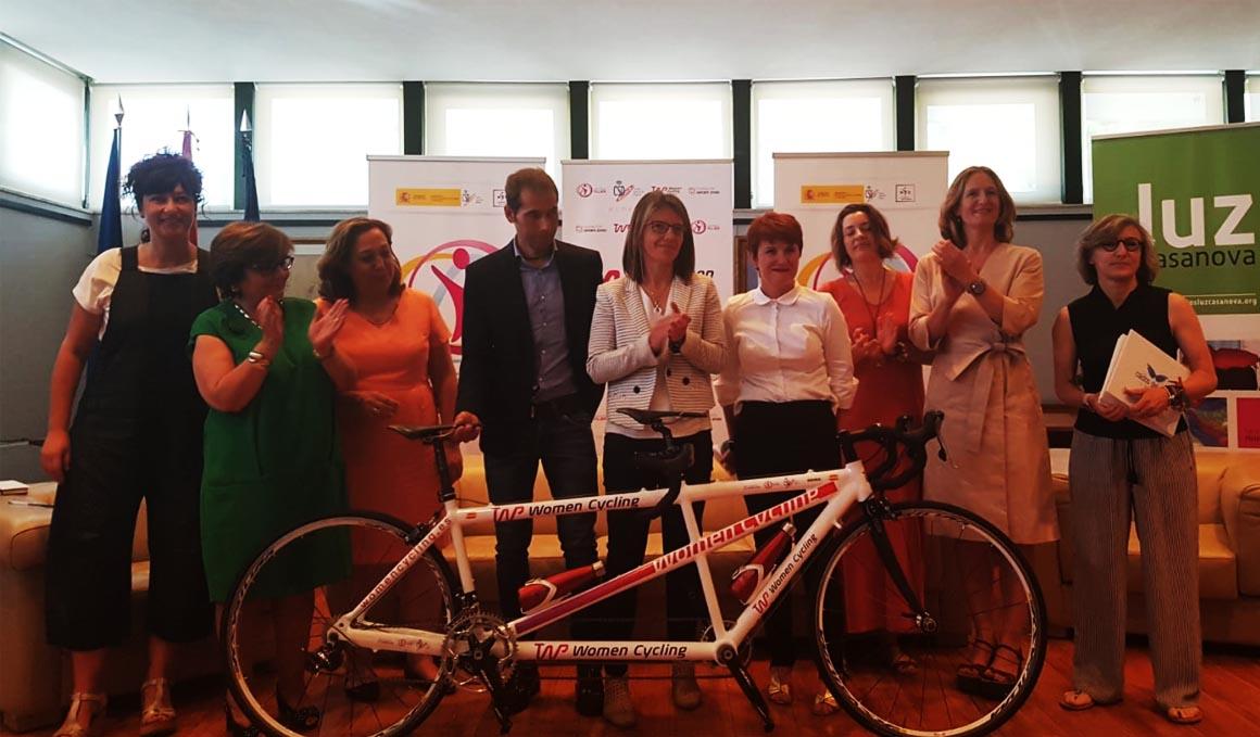 Presentación del Women CYCLING