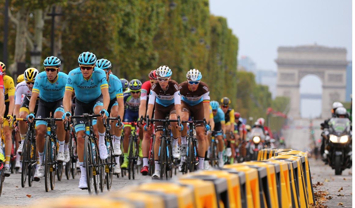 El Tour de Francia en números