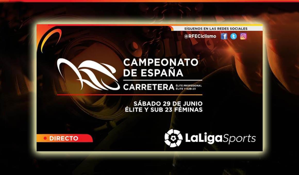LaLigaSports retransmitirá en directo el Campeonato de España de Ciclismo de Murcia