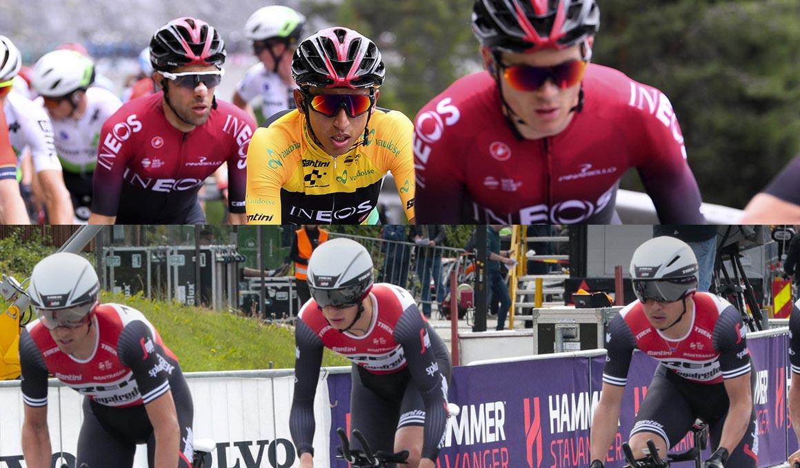 Ineos y Trek Segafredo confirman su lista de ocho corredores para el Tour