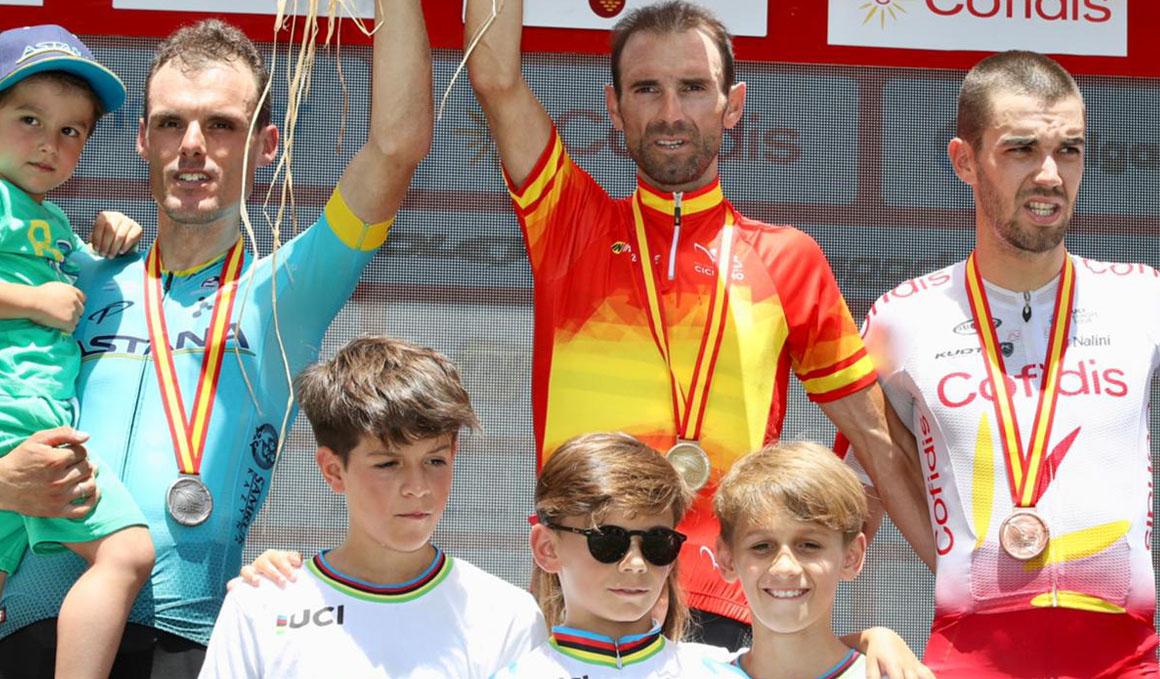 Alejandro Valverde recupera el trono