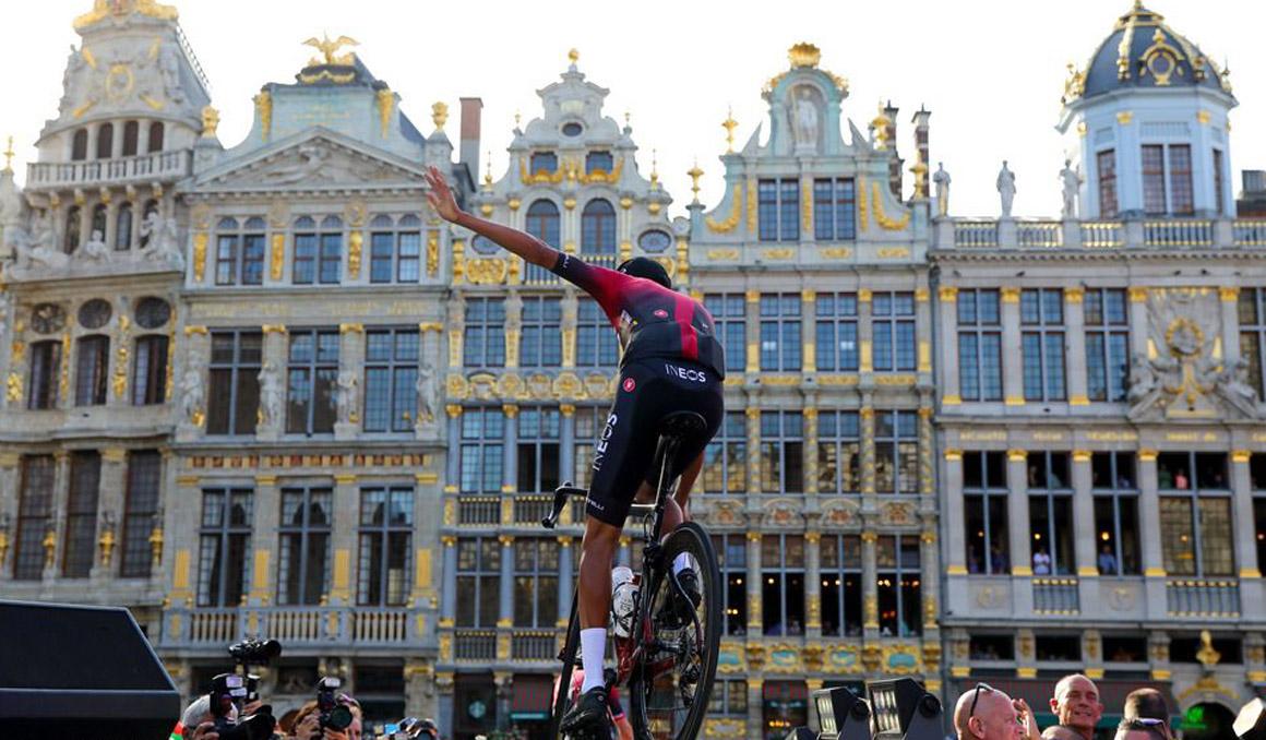 Tour: la presentación de los equipos en imágenes