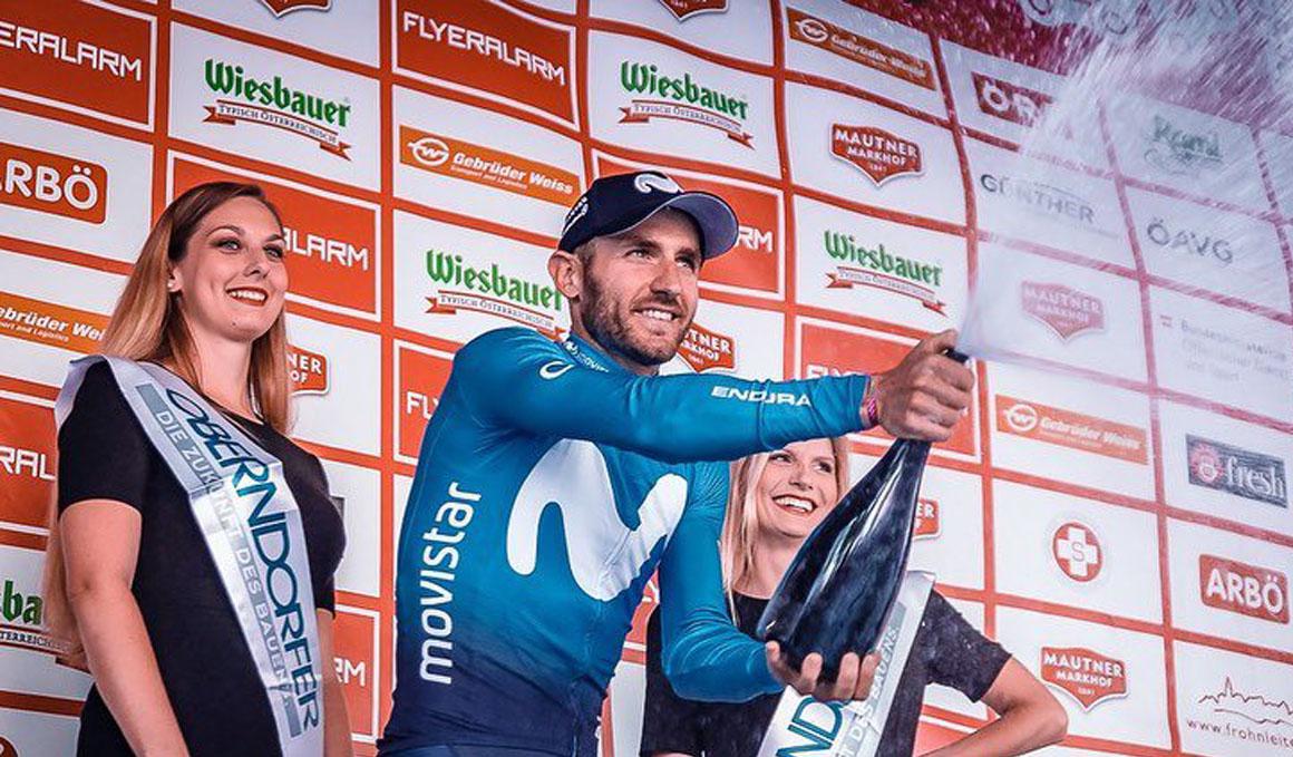 Carlos Barbero regresa a la senda del triunfo en Austria