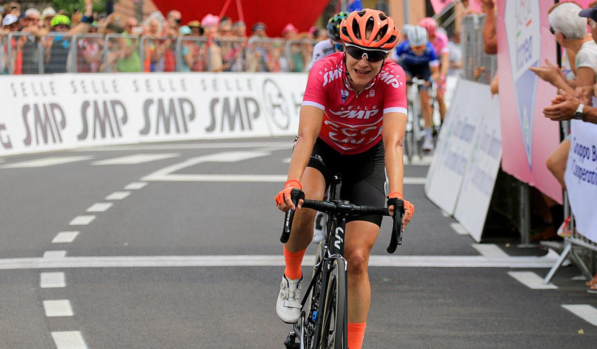 Tercera victoria de Marianne Vos en el Giro Rosa