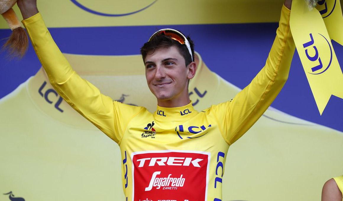 Giulio Ciccone, amarillo de corazón