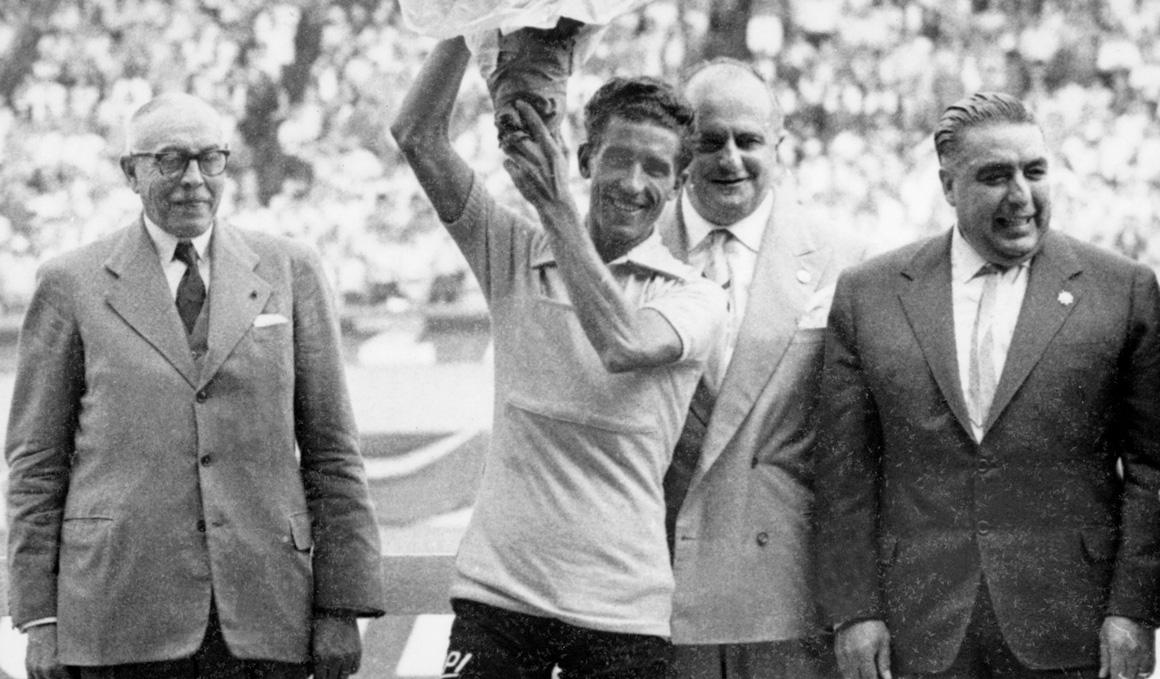 Se cumplen 60 años del maillot amarillo triunfal de Bahamontes